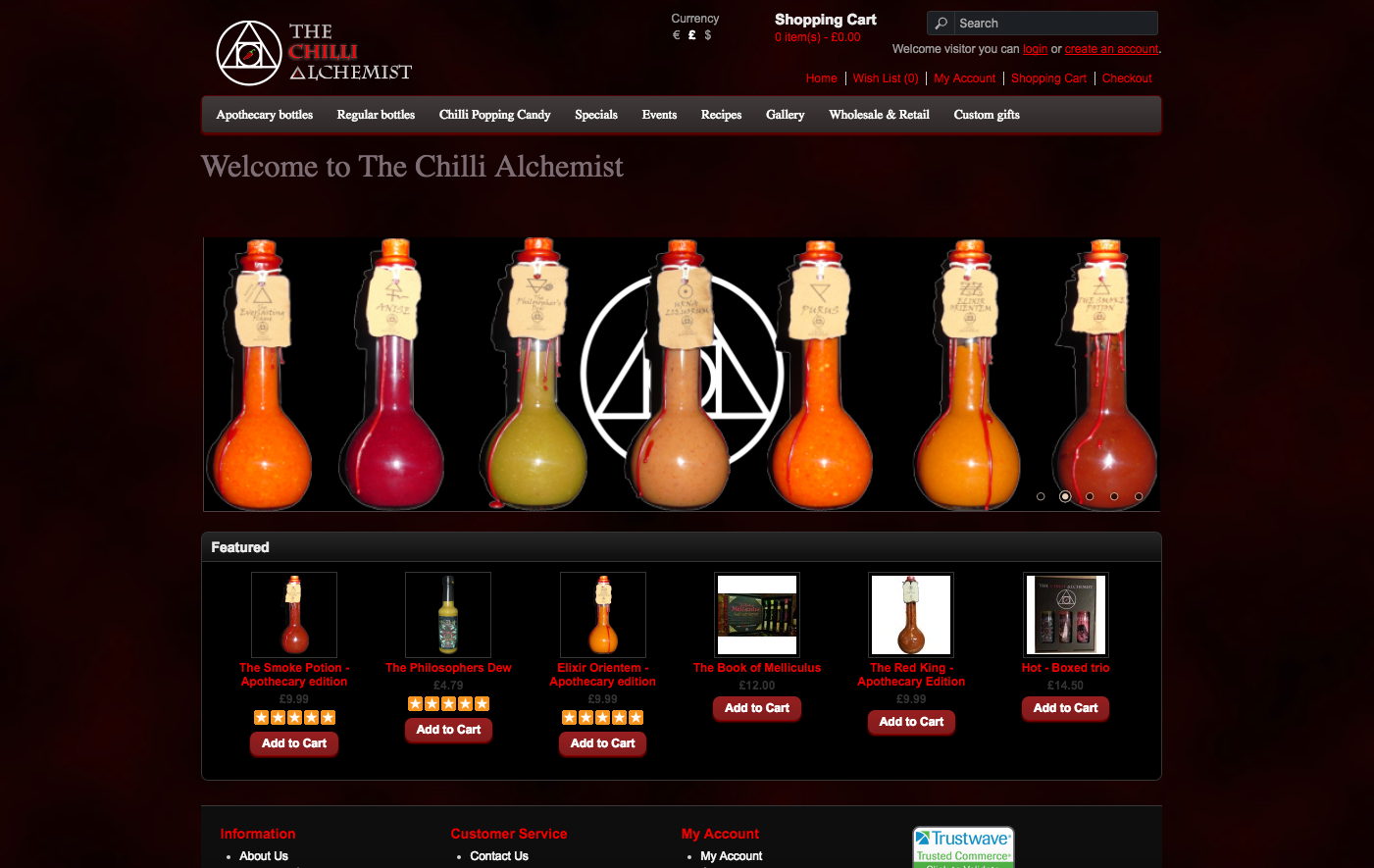 The Chilli Alchemist: Fiery Potions and Elixirs