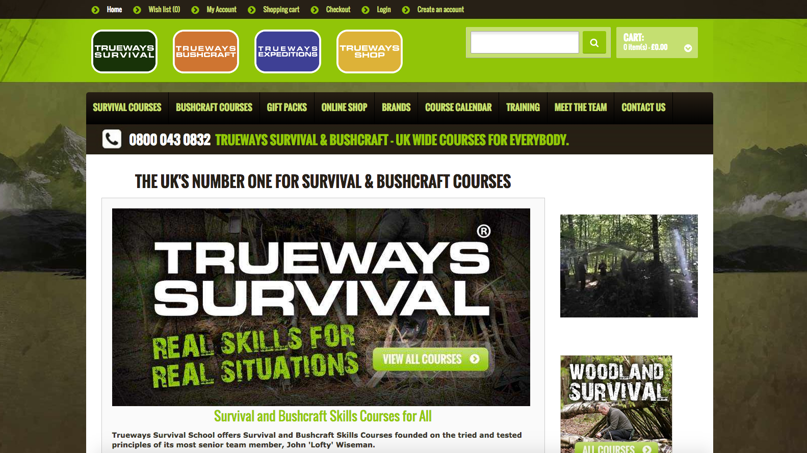 Trueways: UK's Largest Survival Course Provider
