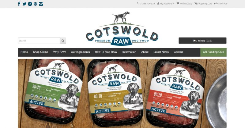 Cotswold RAW: Premium Raw Dog Food