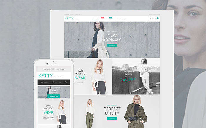 Clothing Store Magento Theme