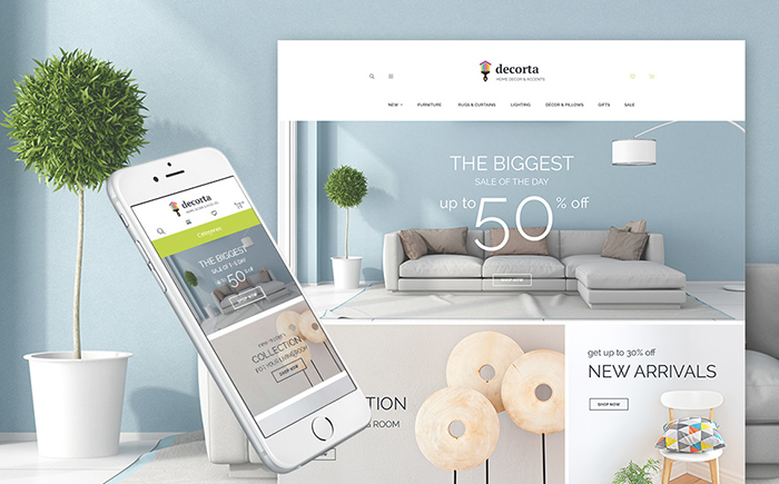 Home Decor Magento 2 Theme