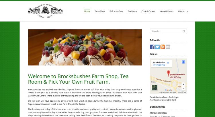 Brocksbushes: Farm Shop & Pick Your Own Fruit